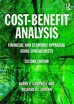 Cost-Benefit Analysis: Economic and Financial Appraisal Using Spreadsheets 9781138848801