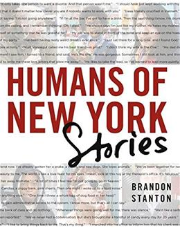 Humans of New York: Stories, by Stanton 9781250058904