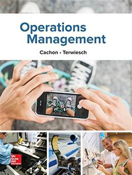 Operations Management, by Cachon 9781259142208