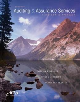 MP Auditing & Assurance Services w/ ACL Software CD-ROM: A Systematic Approach 9 w/CD 9781259162343