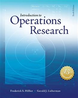 Introduction to Operations Research with Access Card for Premium Content 10 PKG 9781259162985