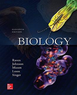 Biology, by Raven, 11th Edition 9781259188138