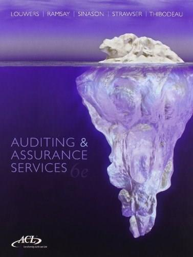 Auditing & Assurance Services with ACL Software Student CD-ROM 6 PKG 9781259197109