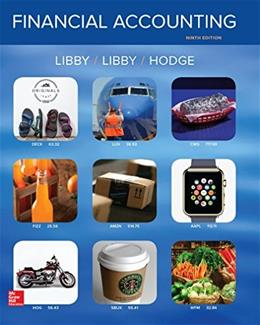 Financial Accounting, by Libby, 9th Edition 9781259222139