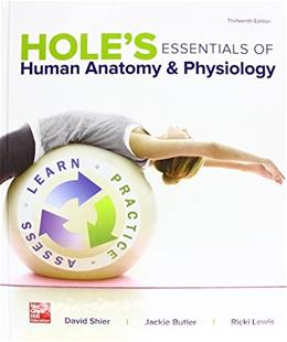 Holes Essentials of Human Anatomy & Physiology 13 9781259277368