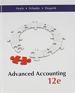 Advanced Accounting, by Hoyle, 12th Edition 12 PKG 9781259283567
