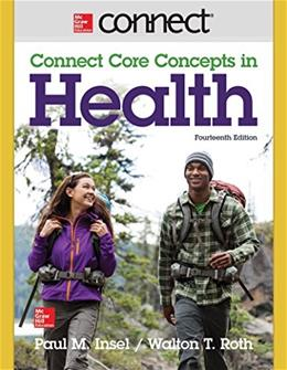 Core Concepts in Health Brief, by Insel, 14th Edition, ACCESS CODE ONLY 14 PKG 9781259284359