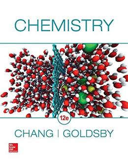 Student Solutions Manual for Chemistry 12 9781259286223