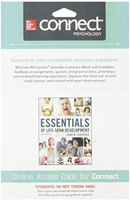 Connect Access Card for Essentials of Lifespan Development 4 9781259286414