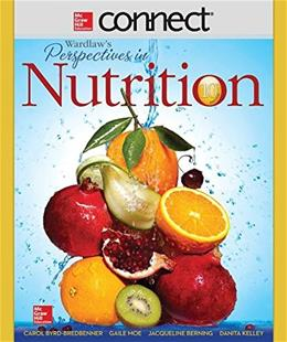Connect Access Card for Wardlaws Perspectives in Nutrition, by Byrd-Bredbenner, 10th Edition, Access Code Only 10 PKG 9781259293917