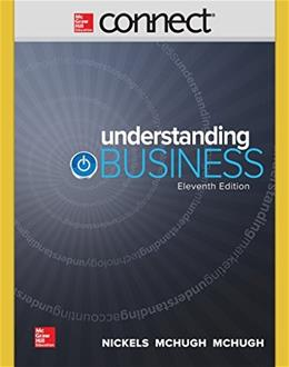 Understanding Business, by Nickels, 11th Edition, Connect 1 Semester Access Code Only 11 PKG 9781259310034