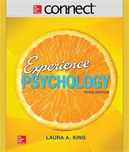 Connect Access Card for Experience Psychology 3 9781259319631