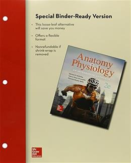 Anatomy and Physiology: An Integrative Approach, by McKinley, 2nd Edition 2 PKG 9781259385148