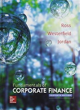 Fundamentals of Corporate Finance with Connect Access Card 11 PKG 9781259418952