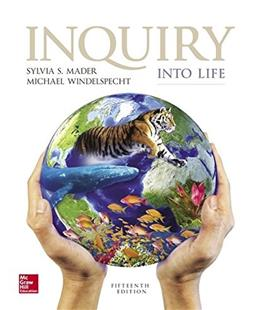 Inquiry into Life, by Mader, 15th Edition 9781259426162