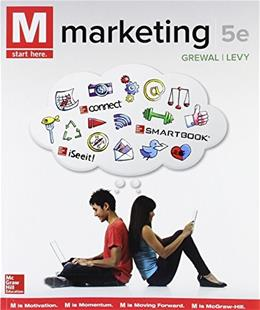 M: Marketing, by Grewal, 5th Edition 9781259446290