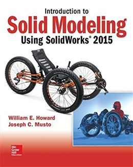 Introduction to Solid Modeling Using SolidWorks 2015 11 9781259542114