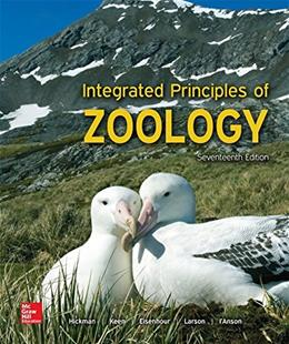 LooseLeaf for Integrated Principles of Zoology 17 9781259562310