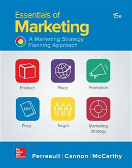 Essentials of Marketing, by Perreault, 15th Edition 9781259573538