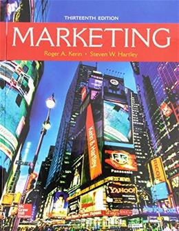 Marketing, by Kerin, 13th Edition 9781259573545