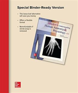 Maders Understanding Human Anatomy and Physiology, by Longenbaker, 9th Edition 9781259636318