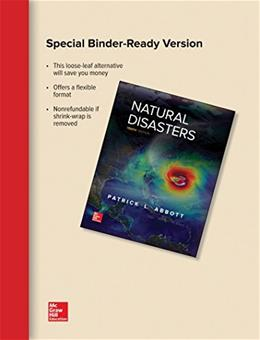 Loose Leaf for Natural Disasters 10 9781259684708