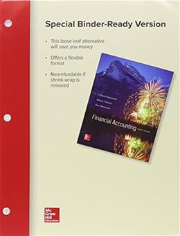 Financial Accounting, by Spiceland, 4th Edition 9781259730955