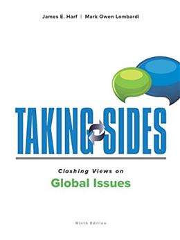Taking Sides: Clashing Views on Global Issues 9 9781259826993