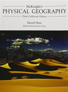 Physical Geography, by Hess, 3rd CUSTOM CALIFORNIA EDITION 9781269144377