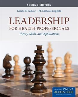 Leadership For Health Professionals 2 PKG 9781284026887