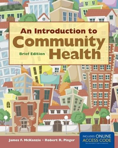 An Introduction to Community Health Brief Edition PKG 9781284026894