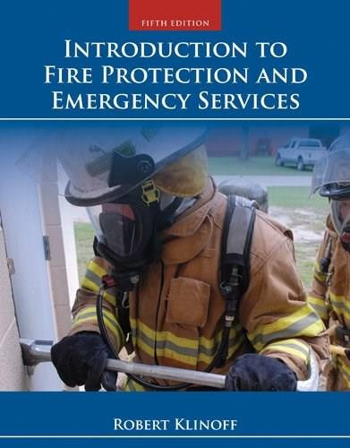 Introduction to Fire Protection and Emergency Services 5 9781284032987