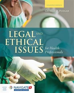 Legal and Ethical Issues for Health Professionals 4 PKG 9781284036794
