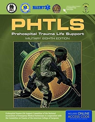 Prehospital Trauma Life Support, Military Edition: Includes eBook with Interactive Tools 8 9781284041750