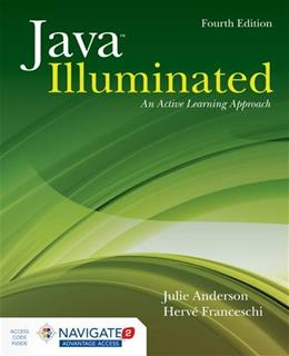 Java Illuminated: An Active Learning Approach 4 PKG 9781284045314