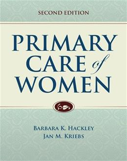 Primary Care Of Women, by Hackney, 2nd Edition 9781284045970