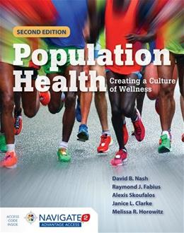 Population Health: Creating a Culture of Wellness 2 PKG 9781284047929