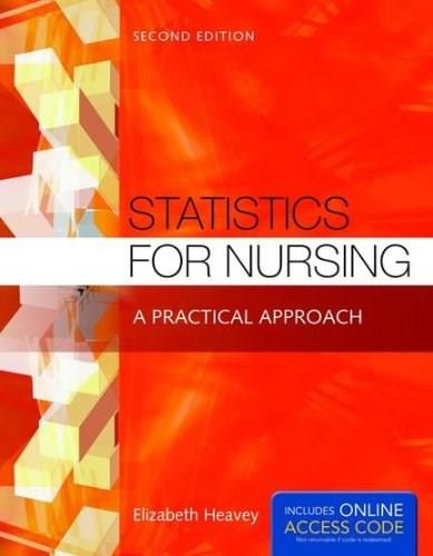 Statistics for Nursing: A Practical Approach 2 PKG 9781284048346