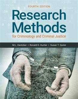 Research Methods for Criminology and Criminal Justice 4 9781284113013