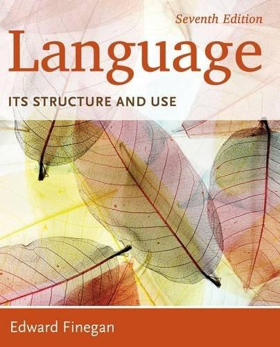 Language: Its Structure and Use 7 9781285052458