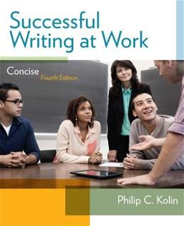 Successful Writing at Work: Concise Edition 4 9781285052564
