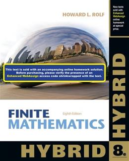 Applied Calculus, Hybrid 6 PKG 9781285056401