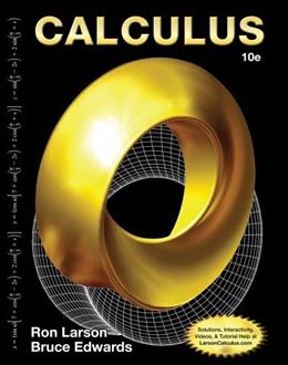 Calculus, By Larson, 10th Edition 9781285057095