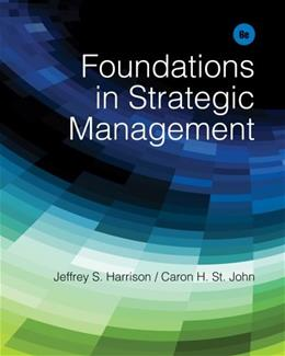 Foundations in Strategic Management 6 9781285057392