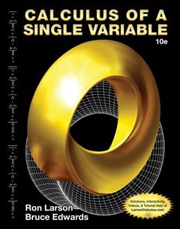Calculus of a Single Variable 10 9781285060286
