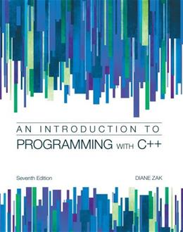 Introduction to Programming with C++ 7 9781285061474