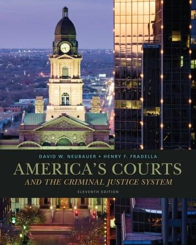 Americas Courts and the Criminal Justice System 11 9781285061948