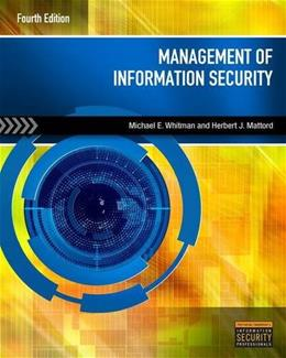 Management of Information Security 4 9781285062297