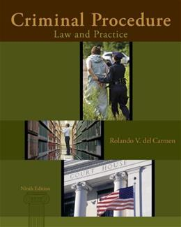 Criminal Procedure: Law and Practice 9 9781285062891