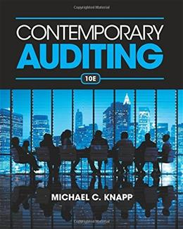 Contemporary Auditing 10 9781285066608